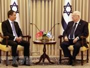 Presenta embajador de Vietnam cartas credenciales al presidente de Israel