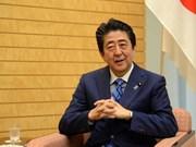 Seguirán creciendo nexos Vietnam-Japón, sostiene Shinzo Abe en entrevista concedida a VNA