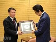 Realiza delegación de la Agencia Vietnamita de Noticias visita a Japón