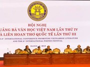 Inauguran en Hanoi importante evento literario internacional