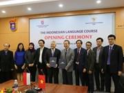 Enseñan idioma indonesio en Universidad Nacional de Vietnam
