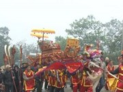 Celebran festival en honor al santo Tan Vien en Hanoi