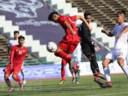 Vietnam gana Filipinas 2-1 en primer partido del Campeonato regional Sub-22