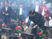 Amplias actividades en homenaje a mártires vietnamitas caídos en defensa de la frontera
