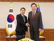 Realiza delegación de Agencia Vietnamita de Noticias visita a Corea del Sur