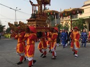 Celebran en provincia vietnamita ceremonia tradicional en honor a la ballena