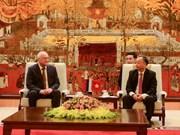 Reciben autoridades de Hanoi a vicepresidente de la Dirección Anticorrupción de Rusia