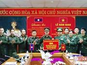 Entrega Vietnam donaciones a fuerzas guardafronteras de Laos