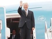 Máximo dirigente político de Vietnam visitará Laos y Camboya