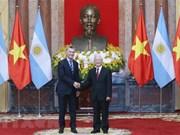 Acuerdan Vietnam y Argentina diversificar intercambio comercial en beneficio mutuo