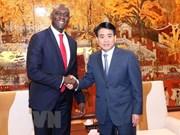 Valora dirigente de Hanoi asistencia del Banco Mundial