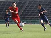 Equipo sub22 de fútbol de Vietnam entra en semifinales del campeonato regional