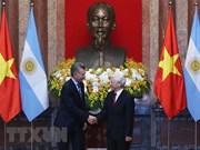 Concluye presidente de Argentina visita a Vietnam