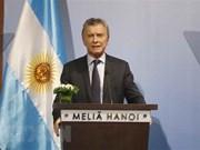 Vietnam es un socio clave para Argentina, afirma el presidente Macri