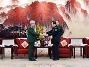Fortalecen Vietnam y China la cooperación en defensa