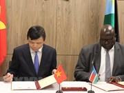 Destacan Vietnam y Sudán del Sur significado del establecimiento de relaciones diplomáticas