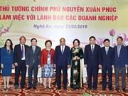 Premier vietnamita destaca papel de inversores en el desarrollo de la provincia de Nghe An