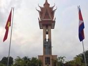 Inauguran Monumento de Amistad con Vietnam en Camboya