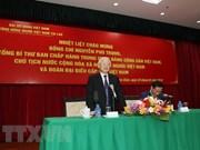 Exhorta presidente de Vietnam a que connacionales en Laos sean puente de conexión para fortalecer nexos bilaterales