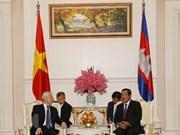 Trazan Vietnam y Camboya medidas para robustecer relaciones bilaterales