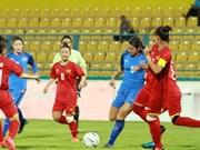Se prepara fútbol femenino de Vietnam para ronda eliminatoria de Juegos Olímpicos 2020