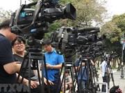 Cubren unos tres mil periodistas extranjeros Cumbre EE.UU.– RPDC en Vietnam