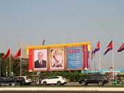 Máximo dirigente de Vietnam concluye su visita a Laos y Camboya