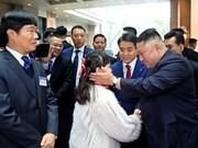 Presidente norcoreano Kim Jong-un arriba a Hanoi