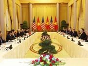 Sostiene máximo dirigente político de Vietnam conversaciones con presidente estadounidense Donald Trump