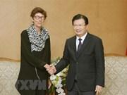 Embajadora noruega dispuesta de promover nexos con Vietnam