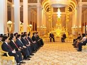 Prensa camboyana resalta visita de máximo dirigente vietnamita
