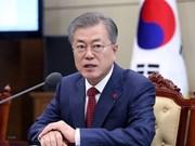 Sostendrán contacto telefónico presidentes de EE.UU. y Corea del Sur sobre Cumbre Trump-Kim en Hanoi
