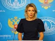 Aplaude Rusia posibilidad de más diálogos entre Washington y Pyongyang
