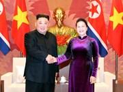Propone dirigente parlamentaria de Vietnam aumentar nexos legislativos con Corea del Norte