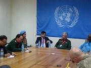 Misión de ONU en Sudán del Sur destaca capacidad de oficiales vietnamitas
