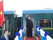 Líder norcoreano concluye su visita oficial y amistosa a Vietnam