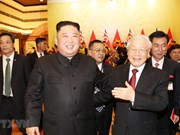 Líder norcoerano manifiesta que espera mejorar los nexos con Vietnam, según KCNA