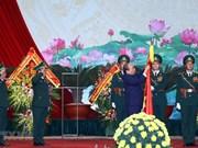 Premier de Vietnam alaba logros de la Guardia Fronteriza en su 60 aniversario de fundación