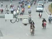 Intensifica Vietnam control de tráfico con instalación de cámaras de tráfico