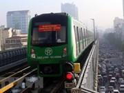 Proponen en Vietnam tarifa subsidiada para boletos de nuevo tren elevado de Hanoi