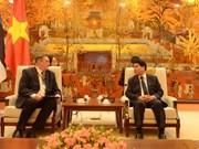 Promueven en Vietnam cooperación con Estonia para desarrollar ciudades inteligentes
