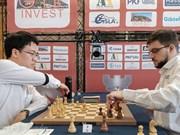 Buen comienzo de ajedrecista vietnamita en torneo internacional