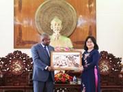 Promueve Vietnam cooperación agrícola con Mozambique