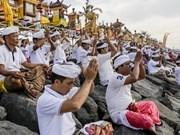 Celebran Día del Silencio en isla indonesia de Bali