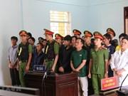 Condenan en Vietnam a 15 personas por alterar el orden público