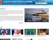 Amplían en Vietnam divulgación en internet sobre el Acuerdo Transpacífico