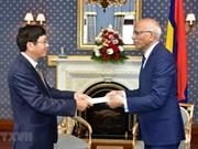 Aspira presidente interino de Mauricio a ampliar la cooperación entre su país y Vietnam