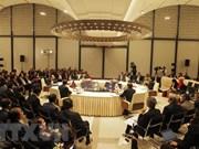Sesiona reunión de funcionarios del Triángulo del Desarrollo Camboya- Laos- Vietnam