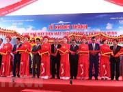 Vicepremier vietnamita inaugura complejo de energía solar en Dak Lak