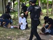 Malasia arresta a nueve sospechosos de terrorismo